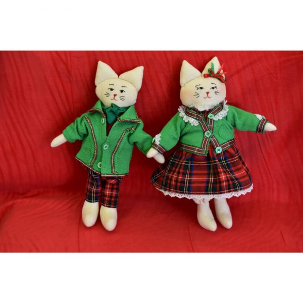 Комплект играчки котки