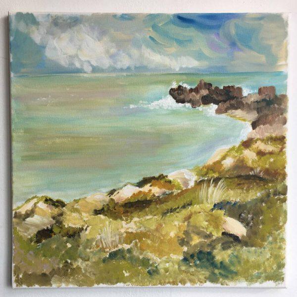 Картина морето преди буря