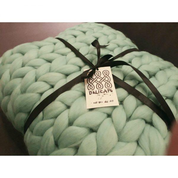 Луксозно одеяло от мериносова вълна