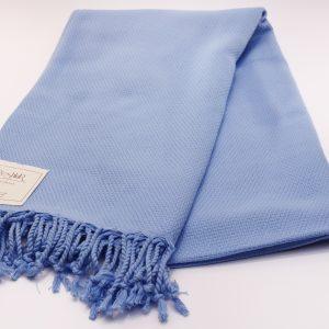 Синя памучна кърпа Single