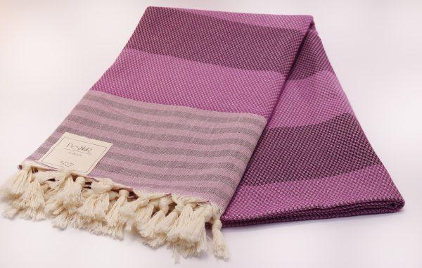 Памучна кърпа в лилаво