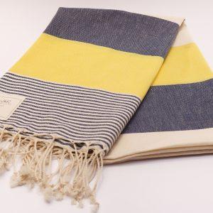 Памучна кърпа в жълто