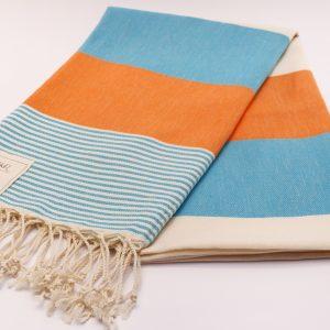 Памучна кърпа в оранжево