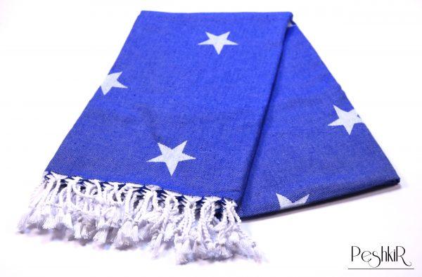 памучна кърпа в мастилено