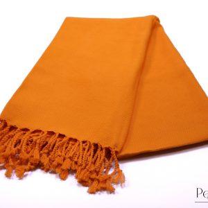 оранжева памучна кърпа