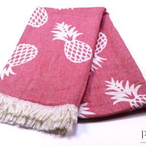 памучна кърпа в коралово
