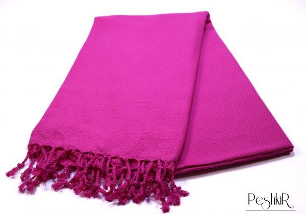 Лилава памучна кърпа