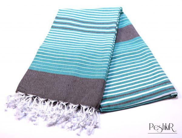 Памучна кърпа тюркоазено