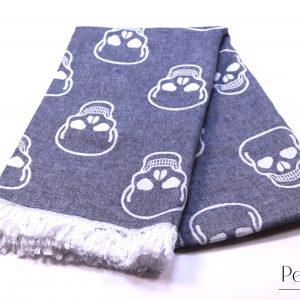памучна кърпа в сиво