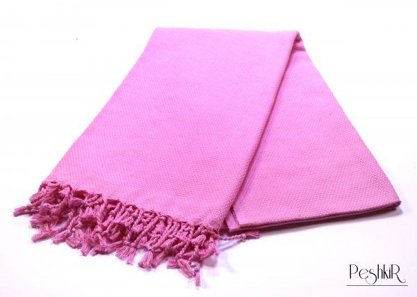 Розова памучна кърпа
