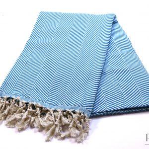Памучна синя кърпа